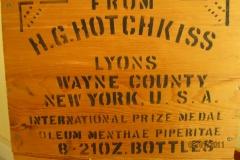 Hotchkiss Oil Crate